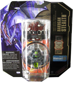 Bakugan Stealth - BakuShadow Darkus(Black) Coredem [Battle Gear Ready]