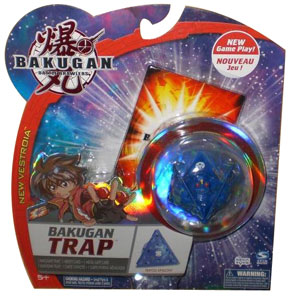 New Vestroia  Bakugan Trap - Aquos(Blue) Tripod Epsilon