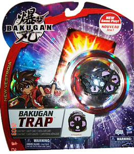 New Vestroia  Bakugan Trap - Darkus(Black) Pythantus
