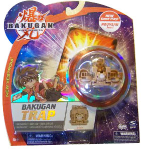 New Vestroia  Bakugan Trap - Subterra(Tan) Zoack