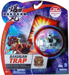 New Vestroia  Bakugan Trap - Haos(Grey) Zoack