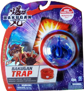 New Vestroia  Bakugan Trap - Aquos(Blue) Scorpion