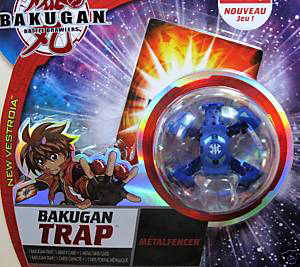 New Vestroia  Bakugan Trap - Aquos(Blue) Metalfencer