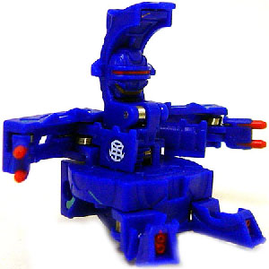 New Vestroia  Bakugan Trap - Aquos(Blue) Fortress