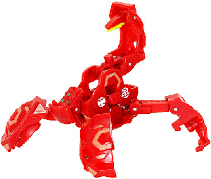 New Vestroia  Bakugan Trap - Pyrus(Red) Metalfencer