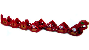 New Vestroia  Bakugan Trap - Pyrus(Red) Pythantus