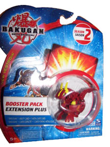 Bakugan New Vestroia Boosters - Pyrus(Red) Voltra