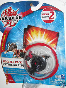 Bakugan New Vestroia Boosters - Darkus(Black) Volta