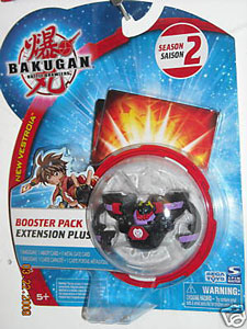 Bakugan New Vestroia Boosters - Darkus(Black) Kilroy
