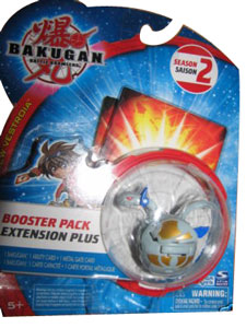 Bakugan New Vestroia Boosters - Haos(Grey) Motra