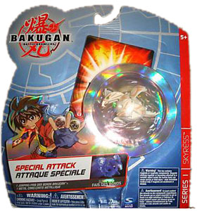 Bakugan Special Attack Booster - Subterra(Tan) Jumping Skyress[LOOSE]