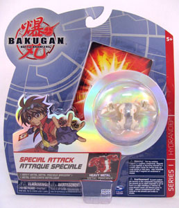 Bakugan Special Attack Booster - Subterra(Tan) Heavy Metal Hydranoid LOOSE