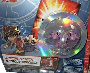 Bakugan Special Attack Booster - Darkus Purple with Black Stripes Hydranoid