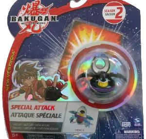 Bakugan New Vestroia Special Attack Booster - Darkus(Black) Preyas II