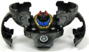Bakugan B3 BakuSteel Darkus[Black] - Wilda