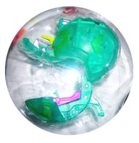 Bakugan B3 BakuLyte - Ventus[Green] Leefram