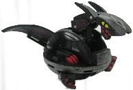Bakugan B3 BakuCore - Darkus[Black] Hyper Dragonoid