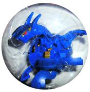 Bakugan B3 BakuCore - Aquos[Blue] Hyper Dragonoid