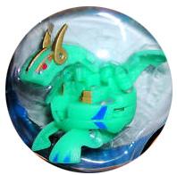 Bakugan B3 BakuFlip - Ventus[Green] Hyper Dragonoid