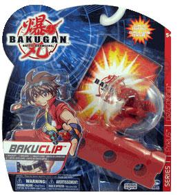 Bakuclip - Pyrus(Red) Dragonoid