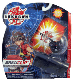 Bakuclip - Darkus(Black) Robotallian