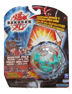 Bakugan - Ventus(Green) Boosters Pack - Fear Ripper