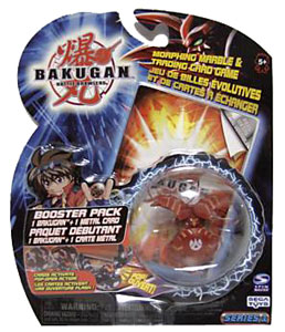 Bakugan - Pyrus(Red) Boosters Pack - Falconeer