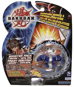 Bakugan - Aquos(Blue) Boosters Pack - Chrome Hydranoid