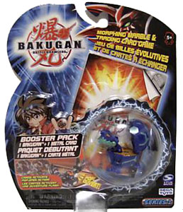 Bakugan - Aquos(Blue) Boosters Pack - Juggernoid