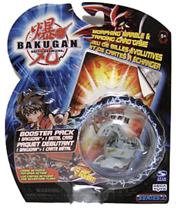 Bakugan - Haos (Grey) Boosters Pack - Dragonoid