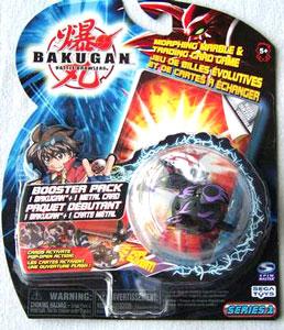 Bakugan - Darkus(Black) Boosters Pack - Skyress