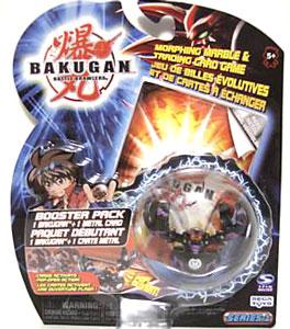 Bakugan - Darkus(Black) Boosters Pack - Fear Ripper