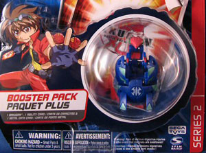 Bakugan -Aquos(Blue) Boosters Pack - Mantris