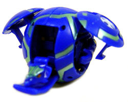 Bakugan - Aquos(Blue) Boosters Pack - Saurus