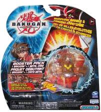 Bakugan - Subterra(Tan) Boosters Pack - Reaper