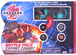 Bakugan Battle Pack - Ventus Juggernoid[500G], Ventus Centipoid[400G], 4 Mystery