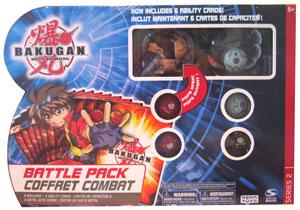 Bakugan Battle Pack - Subterra Juggernoid[500G], Haos Centipoid[400G], 4 Mystery