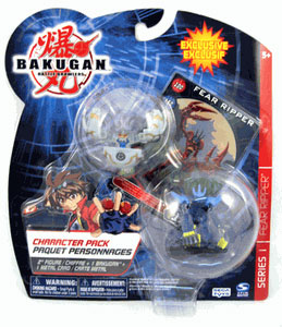 Bakugan Character Boosters - Haos(Grey) Fear Ripper