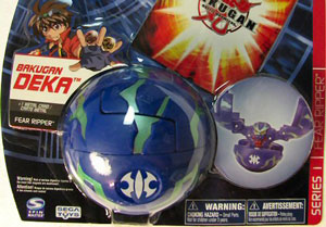 Bakugan Deka - Aquos(Blue) Fear Ripper