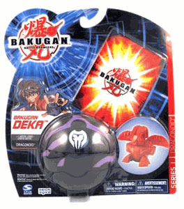 Bakugan Deka - Darkus(Black) Dragonoid