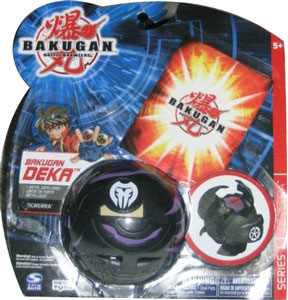 Bakugan Deka - Darkus(Black) Tigrerra