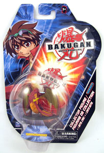 Bakugan Collector Figure - Pyrus(Red) Version 2 Dragonoid
