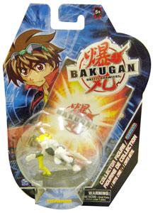 Bakugan Collector Figure - White Tigrerra