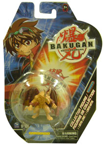 Bakugan Collector Figure - Subterra Gargonoid