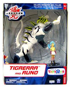 Bakugan Monster Deluxe - Tigrerra and Runo