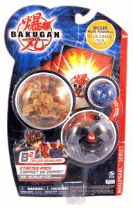 Bakugan B2 - Bakupearl Starters - Darkus Ravenoid, Subterra Storm Skyress, Mystery