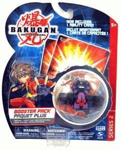 Bakugan - Boosters Pack - Series 2 Darkus(Black) Reaper