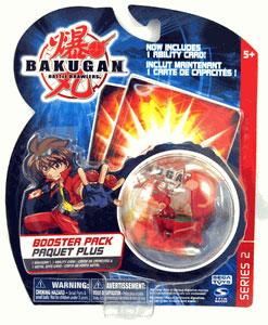 Bakugan - Boosters Pack - Series 2 Pyrus(Red) Juggernoid
