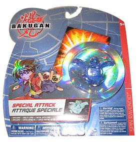 Bakugan Special Attack Booster - Aquos Spin Dragonoid