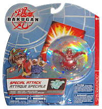 Bakugan Special Attack Booster - Pyrus Spin Ravenoid